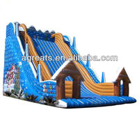 Christmas inflatable water slide for sale G4058