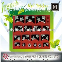 2012 New Glitter French Nail Art Stickers