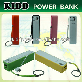 Hottest 2600 mAh Perfume Mini mobile power bank