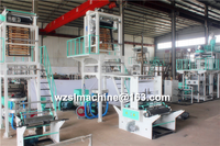 plastic pe film blowing machine/high and low pressure film blowing machine/blow film extruding machine