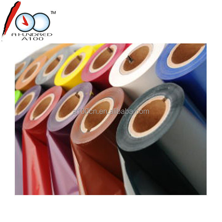 Custom 50mm ~ 110mm * 300m thermal transfer resin colored ribbon