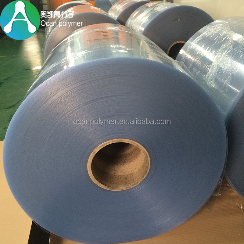 Offset Printing 0.2mm Transparent Rigid Clear <strong>PVC</strong> Roll for Folding Boxes