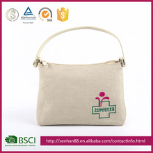 cheap price new style grey white Support ODM OEM logo paper contents cosmetic packaging bag