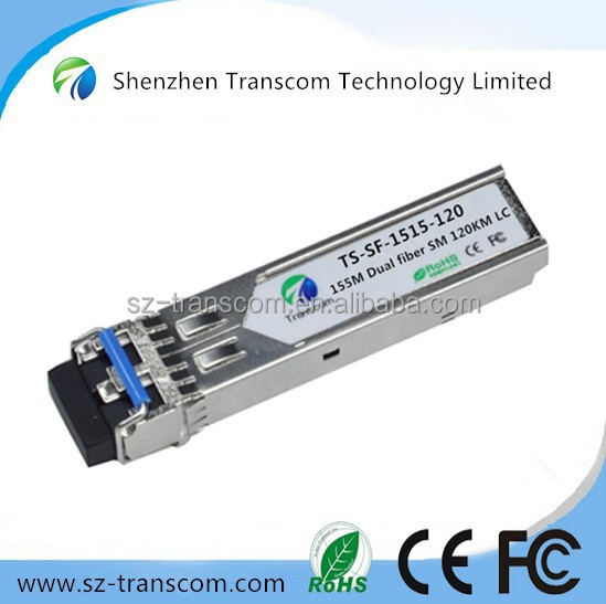 Telecom Equipment 120km Cisco 155M SFP/120km SFP 155M WDM/155M SFP 120Km Transceiver Module