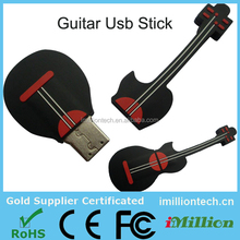 Musical Giveaways Guitar Shape USB Drive, Guitar Shaped USB Drive, Guitar USB Flash Drive 2G B 4GB 8GB 16GB