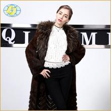 china manufacturer High Quality real mink fur coat women with price