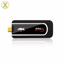 Xlintek 2017 factory android 7.1.1 os tv stick h96 pro mini pc 2gb ram 8gb rom amlogic s912 64bit octa core tv dongle