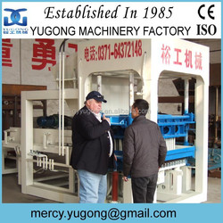 QT10-15 Extreme Durability concrete block machine price, automatic brick making machine price with CE Certificate