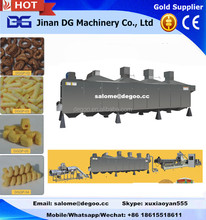 Jinan DG corn cheese ball food extruder processing line making machine