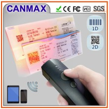 mini Bluetooth 2D barcode scanner for android/iOS/Windows mobile