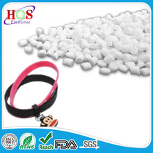Free sampled and competitive-price tpe resin, synthetic, elastomer, material, granules for bracelet, wristband, cuff