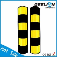 Rubber protector for wall angle 3 sided corner guards