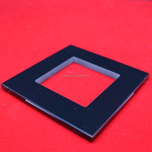 3mm 4mm tempered decorative light switch glass sheet