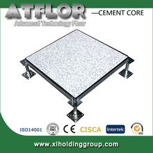 Computer room cementitious infill steel raised floor system FS1250