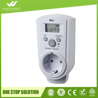 2017 New design with CE and ROHS plug in Room Large Digital Temperature Humidity Displays