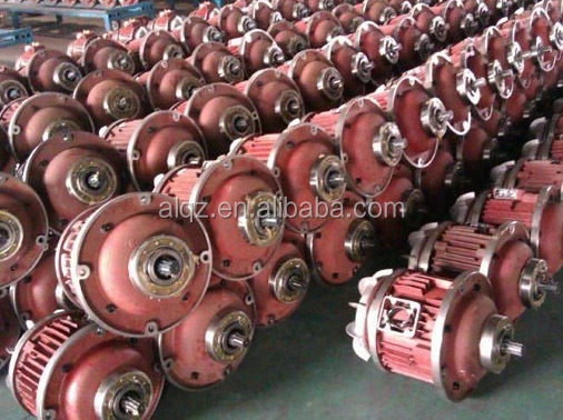 conical rotor magnetic brake motor for crane