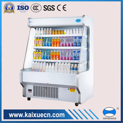 fruit and vegetable display freezer