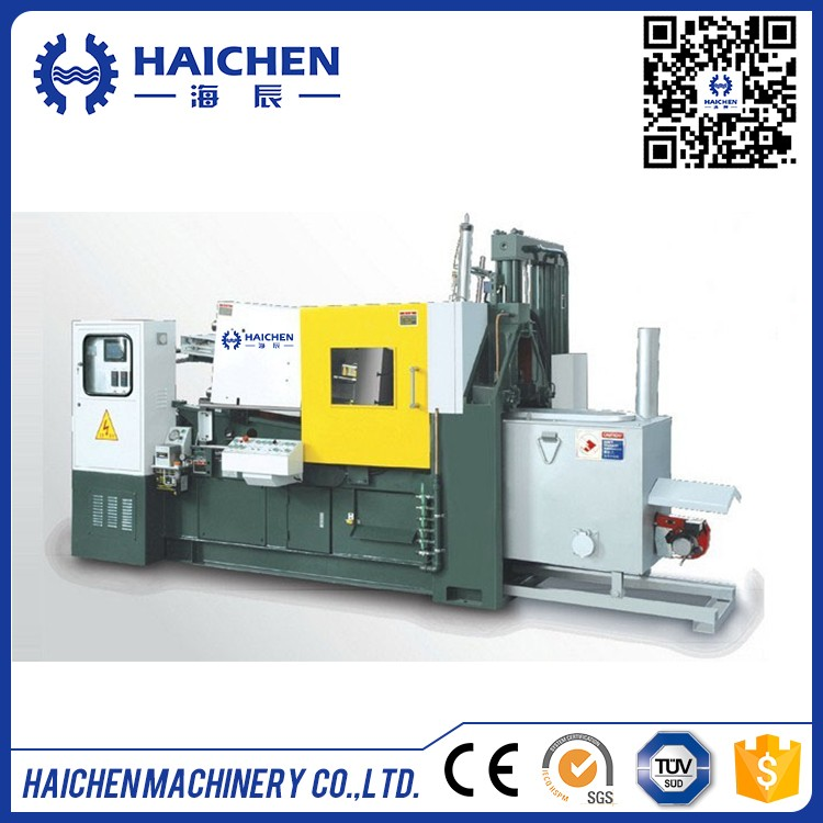 58Ton 580KN automatic horizontal hot chamber die casting machine
