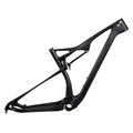 Hot sale 29er mtb full suspension carbon mountain bike frame M06