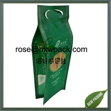 NY+PE Vacuum packing design rice packaging bag with handy handle