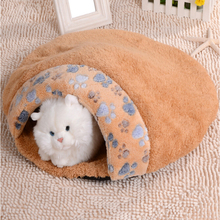Wholesale Customized self warming cat bed,Good Quality cat soft cotton bed
