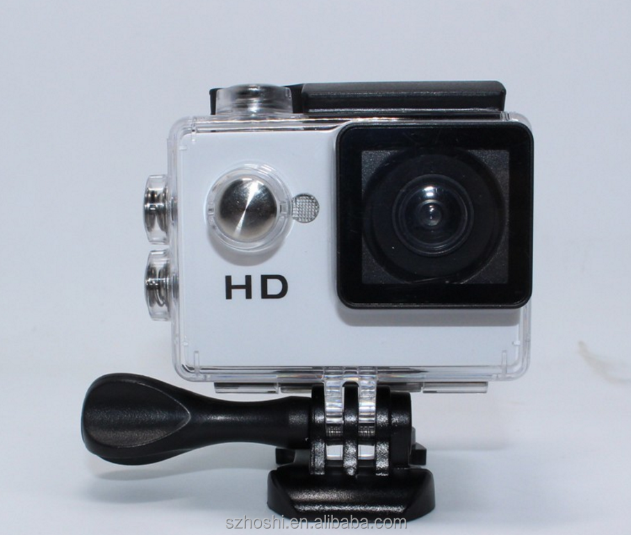 A7 action camera 2.0 inch 720P HD mini sports dv Camera OEM Extreme Action Camera Diving 30M Waterproof mini Sports DV