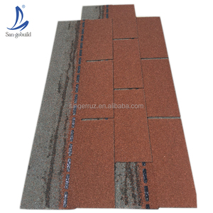 Importing building Construction Real Estate Masonry Materials house roof fiberglass felt asphalt shingle 3-tab roofing tile