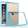 Colorful clear crystal 2 in 1 TPU unltraslim case for Apple iPad mini 2/3