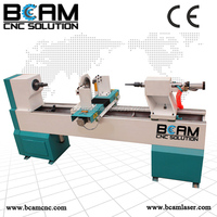 automatic wood turning copy lathe for sale/woodworking machine/baseball bat cnc wood turning lathe