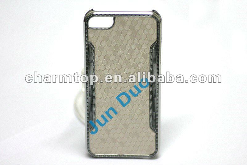 Ball Leather Chrome Case For Apple iPhone 5 5S