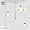 Simple Modern 3 Heads LED Dinning Lighting More Creative Warm Lighting Fixture