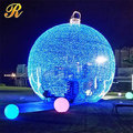 Large outdoor Christmas lighting Christmas ball arch lights