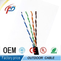 Outdoor Cat5e/Cat6 Electric Cable