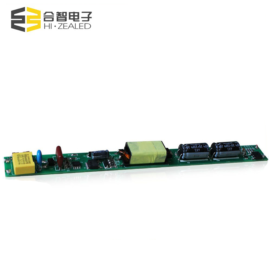 Wide input voltage non isolated led tube driver 36v-70v 18 watt led driver 350ma 480ma