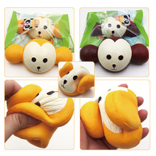 Super slow squishy monkey wholesale squishy jumbo scented slow rising toys