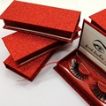 Wholesale OEM Factory Price Own Brand Private Label 100% 3D Mink Fur Strip Eyelash with Magnetic Lash Box