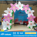 Small decor inflatable flower arch door