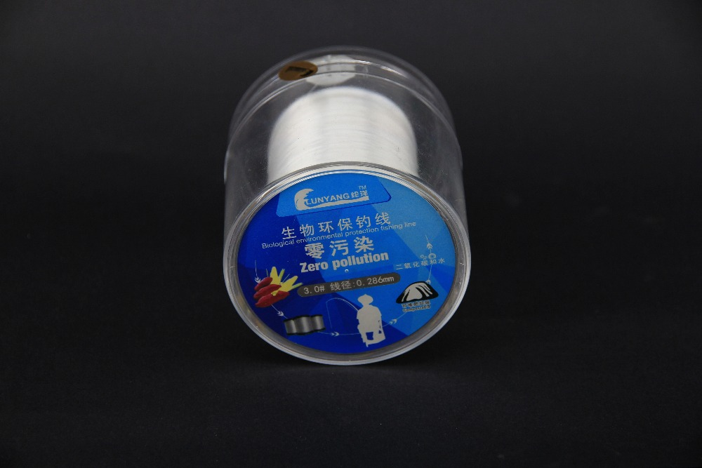 biological environmental protection fishing line