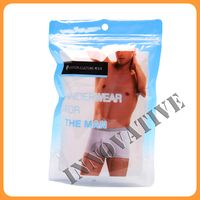 new design customized printed laminating men pouch underwear
