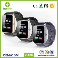 2017 fancy buluetooth smart watch phone with sim card gt08 gv08 dz09,ios smart watch phone for for nokia watch mobile phone