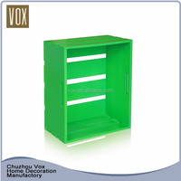 Popular durable small decorative wood crate furniture