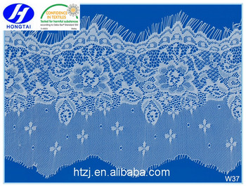 wholesale Good quality young spandex modern french lace fabric designer sarees for clothes