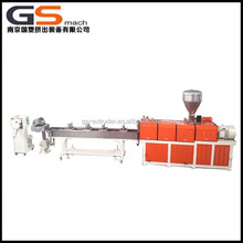plastic recycle granule machine with water strand pelletizing machine