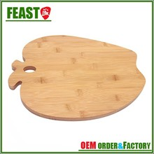 2015 New design bamboo cutting board hot sale color coding chopping board