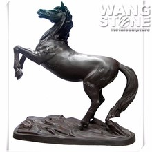 Cast Metal Animal Brass Arabian Horse Sculpture