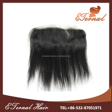 High Quality Brazilian side parting straight human hair cheap lace frontal closure 13x4