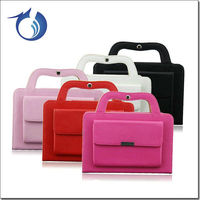 Convenient Handbag Pu Leather Tablet Case For Ipad Mini