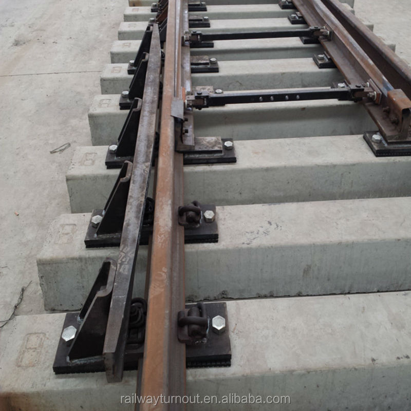 BS100A China railway turnout railway equipment manufacturers guard rail