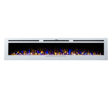 "2018 New Super Long 100"" Wall Mounted/Build-in Electric Fireplace"