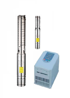 High efficiency electrical /Solar panel / impeller controller / submersible pump